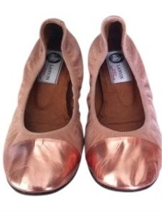 Lanvin rose gold Flats