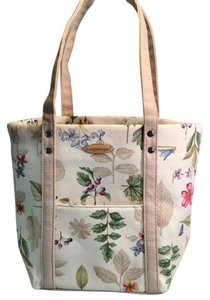 Longaberger Tote in Multi Floral