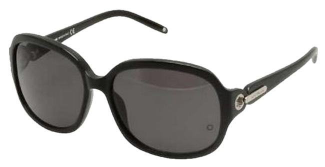 Montblanc Pearled Black Women's Sunglasses Montblanc Pearled Black Women's Sunglasses Image 1