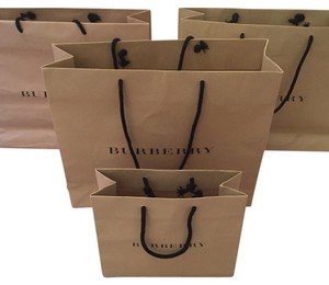 Burberry gift bags