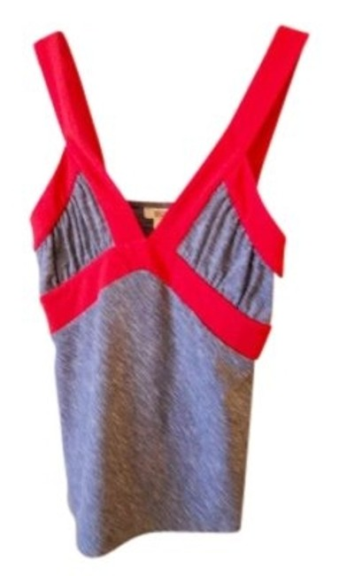 Preload https://item1.tradesy.com/images/michael-kors-two-piece-gray-w-red-trim-night-out-top-size-10-m-148730-0-0.jpg?width=400&height=650