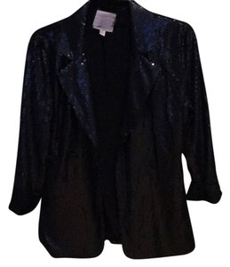 Romeo & Juliet Couture Black sequined jacket Jacket