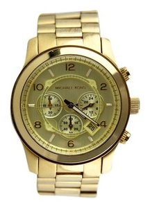 Michael Kors Michael Kors Men's Chronograph Runway Gold-Tone Watch