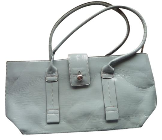 Emile M Magenitc Closure Two Handles Shoulder Bag