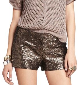 Express Sequins Dress Shorts Bronze