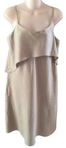 Tommy Bahama short dress Olive Grey Spaghetti Strap on Tradesy