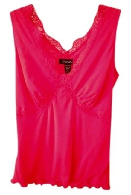 Ideology Top Lacy Red