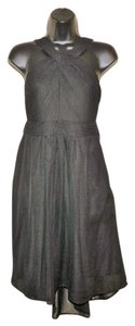 Tevolio Lightweight Halter Ruched Hi Lo Dress