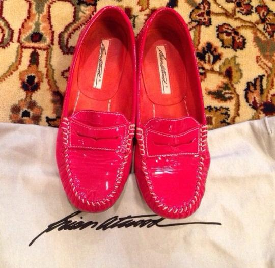 Brian Atwood Red Flats