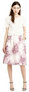 J.Crew Collection 2 Skirt hazy fuchsia