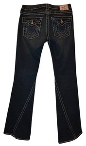 True Religion Disco Joye Big T Boot Cut Jeans-Dark Rinse