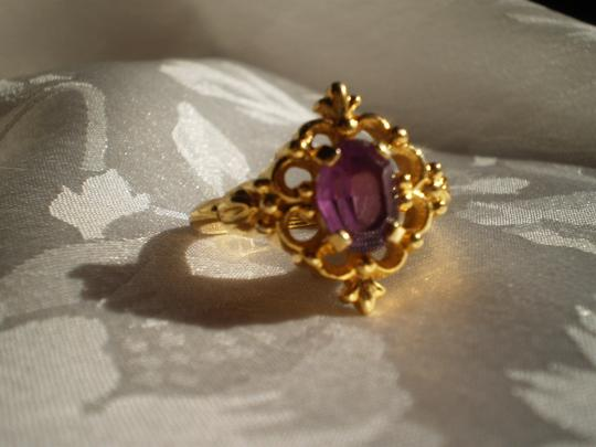 Avon Like new Avon amethyst ring