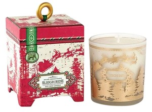 Michel Design Works Sleigh Ride Soy Candle 6.5oz - Scent: Forest Spruce (Brand New)