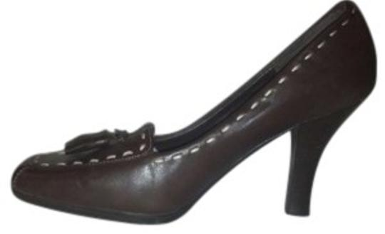 Worthington Dark Brown Pumps