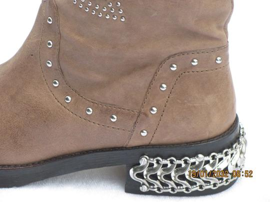 Donald J. Pliner beige with studs Boots Image 1