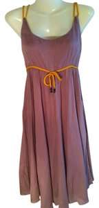 Brown and yellow Maxi Dress by White rice