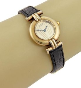 Cartier Must De Cartier Paris Vermeil Sterling Quartz Ladies Watch