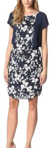 Vince Camuto short dress Navy on Tradesy