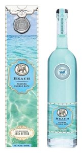 Michel Design Works Beach Bubble Bath 12.7 oz - Scent: Clean Sea Breeze (Brand New)