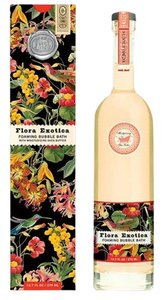 Michel Design Works Flora Exotica Bubble Bath 12.7oz - Scent: Exotic Flowers in Bloom (Brand New)