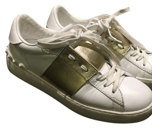 Valentino White/Gold Athletic