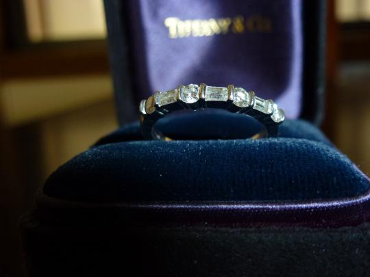 Tiffany & Co. Tiffany & Co Platinum & Diamond