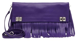 Prada Fringe Leather Shoulder Bag