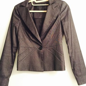 bebe Dark Grey Blazer