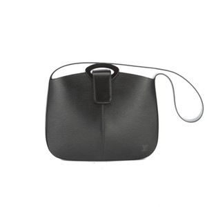 Louis Vuitton Black Epi Shoulder Bag