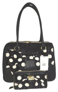 Betsey Johnson Large Satchel in black