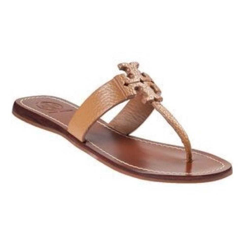 a94aa314aed Tory Burch Royal Tan Moore Thong Sandals Size US 10 Regular (M