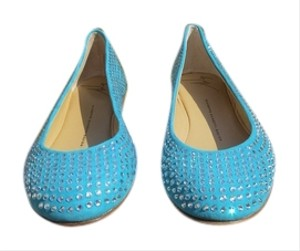 38e8168fe7539 Blue Giuseppe Zanotti Flats Regular (M, B) Up to 90% off at Tradesy