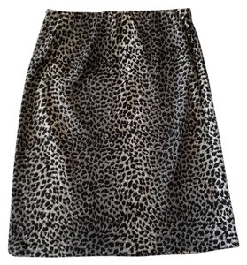 Skirt Black & White Cheetah