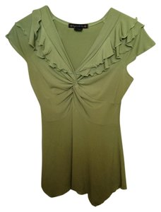 Suzie In The City Top Green