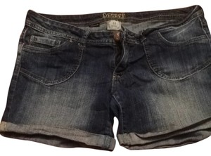 Decree Denim Shorts-Medium Wash