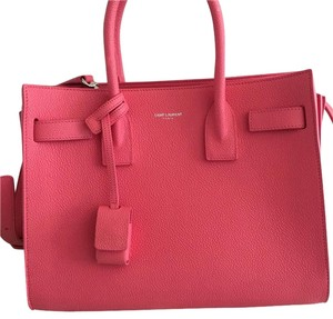 Saint Laurent Satchel in Light Pink