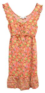 Forever 21 short dress Multicolor Floral Print Flowy Ruffle on Tradesy