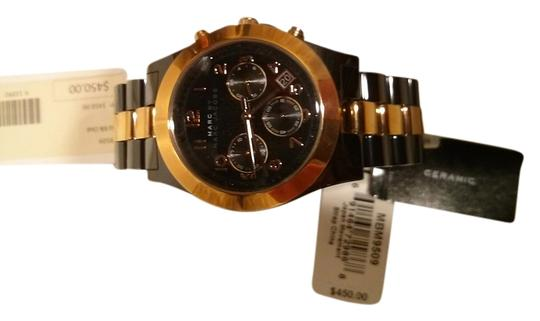 Marc Jacobs Marc by Marc Jacobs Dave Chronograph Ceramic Watch - Black with Gold MBM9509