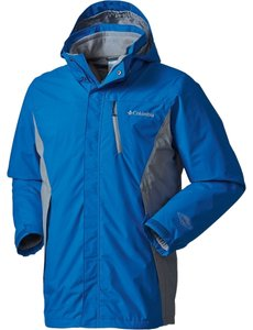 Columbia Sportswear Company Coat Waterproof Hyper Blue Jacket