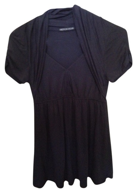 Preload https://item1.tradesy.com/images/american-dream-grey-tunic-size-4-s-1487985-0-0.jpg?width=400&height=650