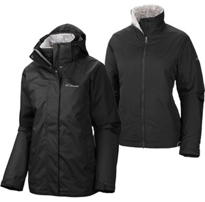 Columbia Sportswear Company Adjustable Hood Adjustable Cuffs Jacket