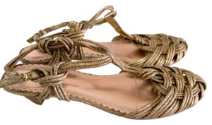 Seychelles Gold Sandals