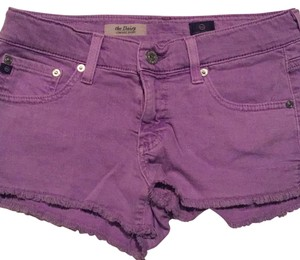 AG Adriano Goldschmied Mini/Short Shorts Highlighter purple