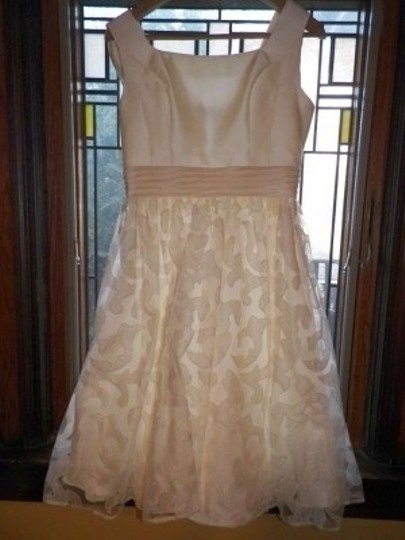 Preload https://item1.tradesy.com/images/pronovias-ivory-polyester-and-lace-vintage-wedding-dress-size-petite-4-s-148805-0-0.jpg?width=440&height=440
