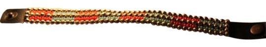 Maurices Brown Leather Beaded Bracelet