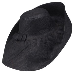 Be You Fashions Back Wide Brim Hat made out of Woven Raffia