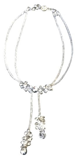 Preload https://item3.tradesy.com/images/silver-iridescent-beaded-necklace-14881642-0-1.jpg?width=440&height=440