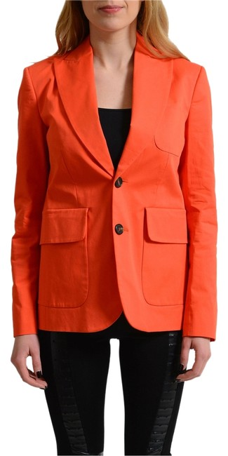 Preload https://item1.tradesy.com/images/dsquared2-orange-two-buttons-women-s-blazer-size-4-s-14881825-0-1.jpg?width=400&height=650