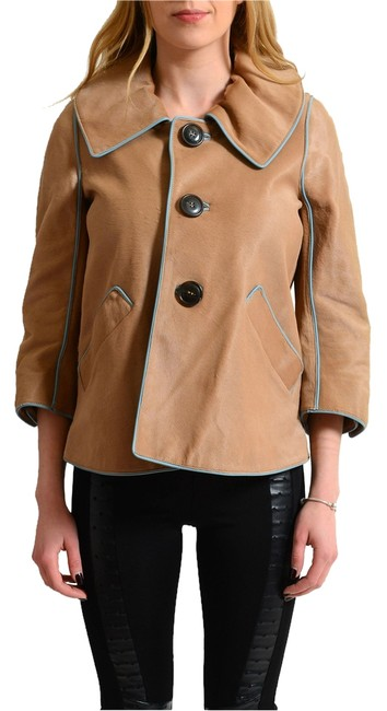 Preload https://item2.tradesy.com/images/dsquared2-brown-calf-leather-three-buttons-women-s-basic-size-4-s-14881861-0-1.jpg?width=400&height=650