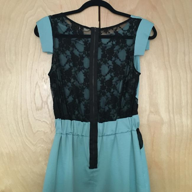 Other short dress Teal and black on Tradesy